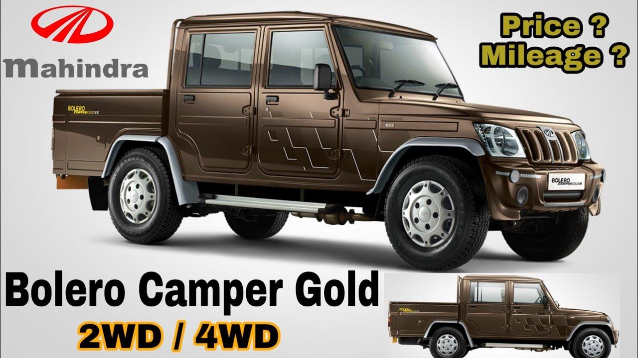 Mahindra Bolero Camper Gold 2019 Model Price Mileage Specifications Youtube
