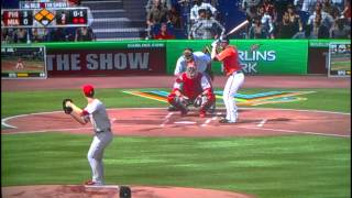 MLB 13: Philadelphia Phillies vs Miami Marlins