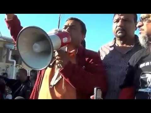NTC workers on strike