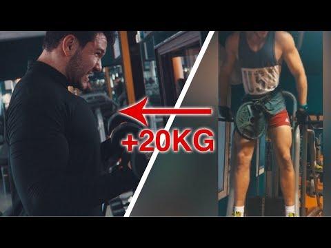 💪ROAD TO 110 KG - EP 1💯🏋️♂️ تزادت فيا +20 كغ - J'AI PRIS +20 KG !!