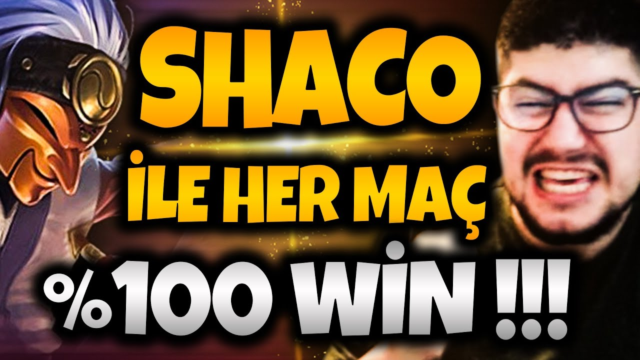 SHACO İLE HER MAÇ %100 WİN !!! | Apophis