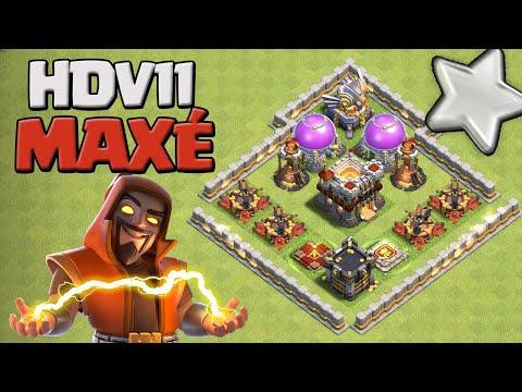 ON MAX L'HDV 11 ! Dernier épisode ! Clash of Clans