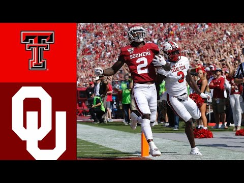 Texas Tech vs #6 Oklahoma Highlights | NCAAF Week 5 | Colleg
