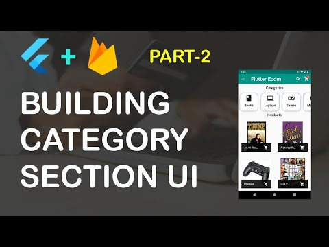 Flutter Ecommerce App Part 2 (Category Section UI)