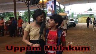Uppum mulakum Juhi Rustagi and Keshu live today