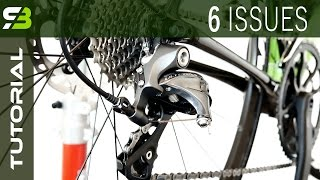 Poor Shifting - 6 Main Causes Of Bad Gear Change. Bicycle Troubleshooting