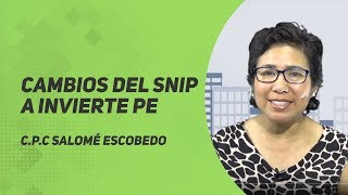 Video Cambios del SNIP a INVIERTE PERÚ download MP3, 3GP, MP4, WEBM, AVI, FLV Agustus 2017