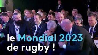 La France organisera le Mondial 2023 de rugby !