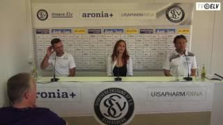TV Elv // Pressekonferenz - SV Elversberg vs. Stuttgarter Kickers / 13.08.16