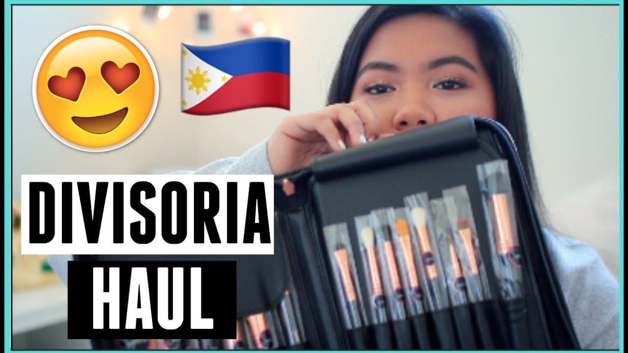 PHILIPPINES BEAUTY HAUL (Divisoria, SM Dept Store, Etude, etc.)