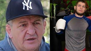 Абдулманап Нурмагомедов рассказал как тренируется и что ест Хабиб Нурмагомедов перед боем
