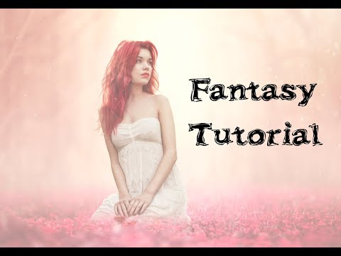 Fantasy Portrait Composition Tutorial - Come Edit With Me