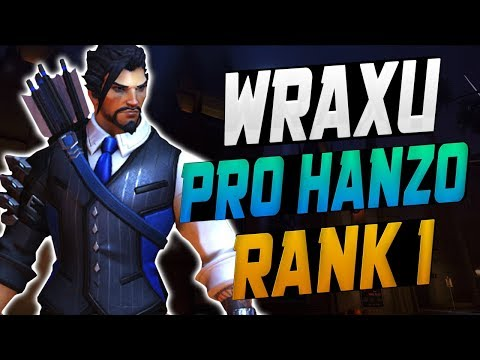 WRAXU PRO HANZO! HE'S INSANE! [ OVERWATCH SEASON 9 TOP 500 ] thumbnail