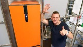 видео Самый тихий холодильник
