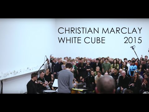 Christian Marclay, White Cube 2015
