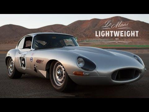Jaguar E-Type Lightweight Recreated