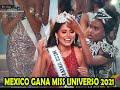 Andrea Meza Mexicana gana Miss Universo 2021 VIVA México!
