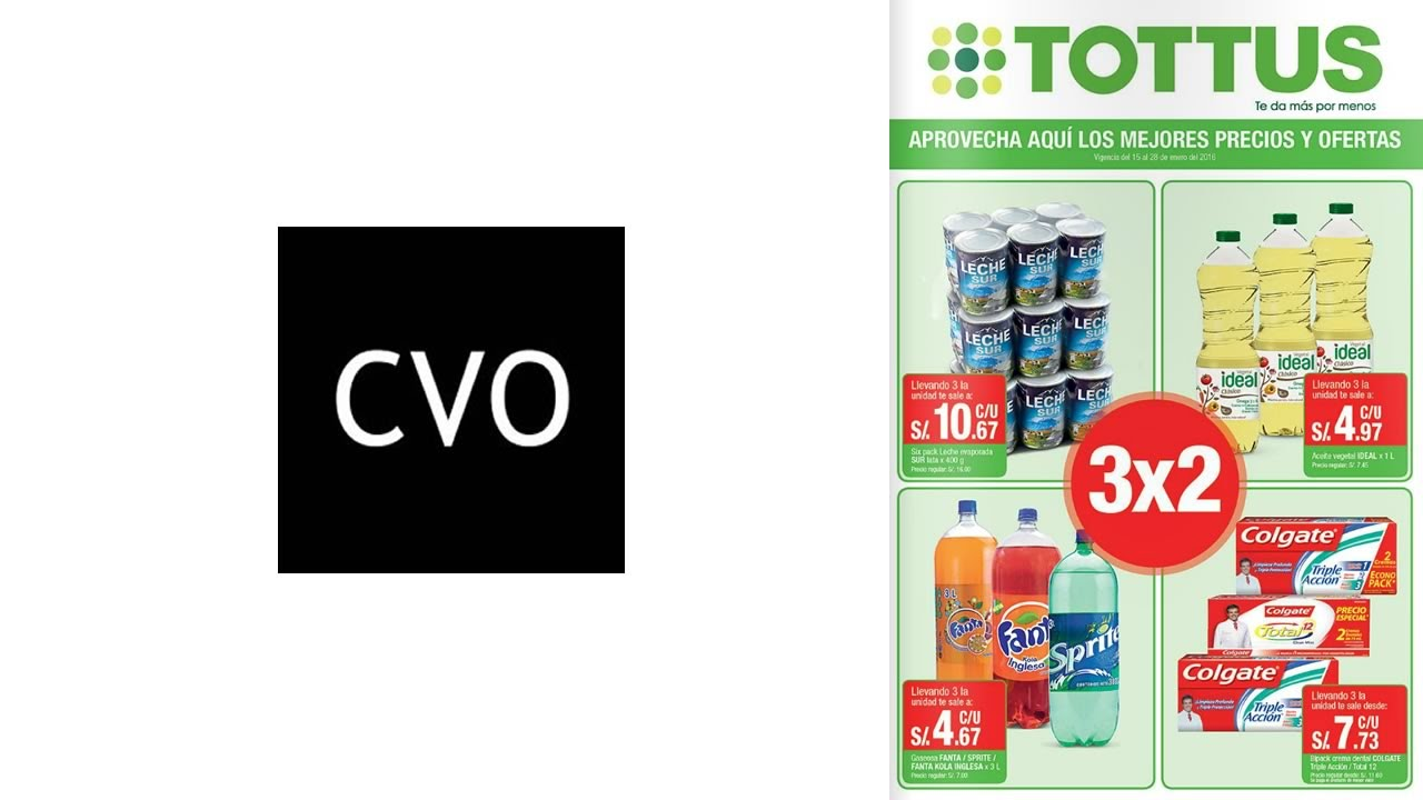 Catalogo tottus ofertas 3x2 hasta el 28 de enero de 2016 - Hogarium catalogo de ofertas ...