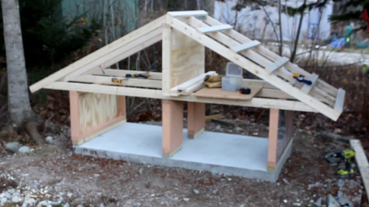 Build a duck coop part 3 of 5 youtube for How to build a duck pen