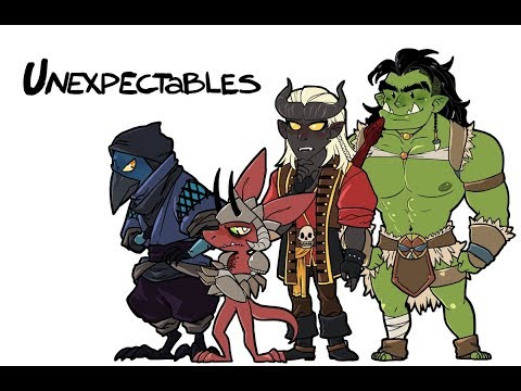 DnD The Unexpectables 18: Initial DnD
