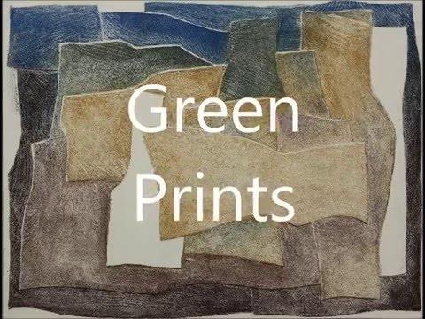 Green Prints - sugar aquatint