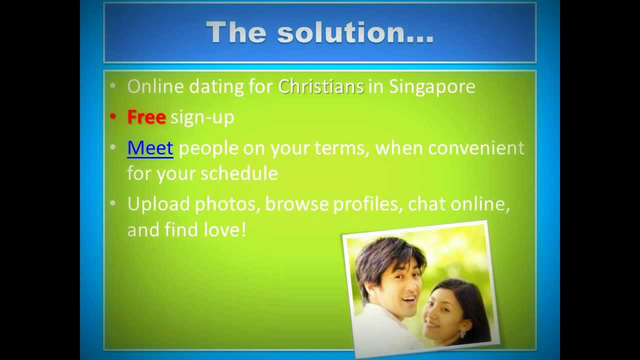 Christian dating singapore