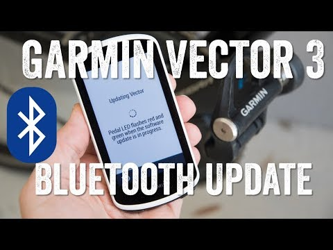 Hands-on: Garmin Vector 3 Bluetooth Firmware Finally Out! - YouTube
