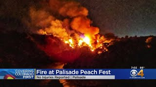 Fire Forces Evacuation Of Palisade Peach Festival