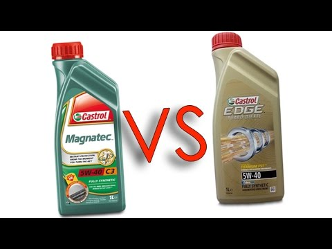 castrol magnatec 5w40 vs castrol edge 5w40 test oil youtube. Black Bedroom Furniture Sets. Home Design Ideas