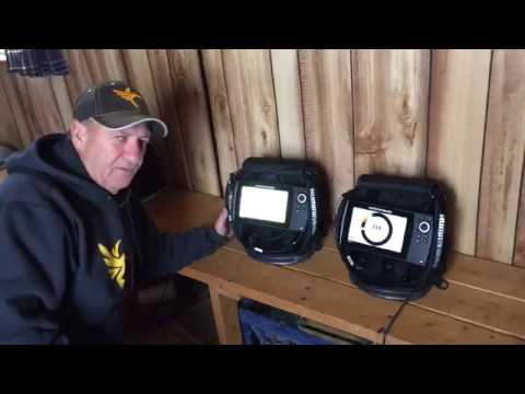 2d sonar for ice fishing on ice helix 5 and ice helix 7 - youtube, Fish Finder