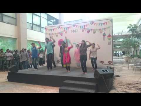 NXP Bangalore Talent's Day Dance! Desi girl, Dhol baaje-Raamleela, Mukkalaa, Balam pichkaari!
