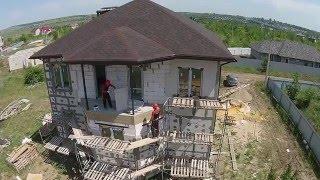 видео Стены с термоизоляционными плитами