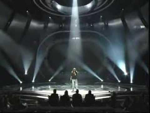 "Bo Bice sings ""In A Dream."""