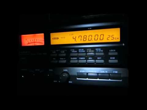 4780 Khz, Radio Djibouti with extended programme