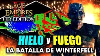 La BATALLA de WINTERFELL en AGE of EMPIRES 2