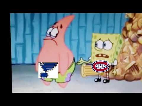 All 31 NHL Teams Portrayed by Spongebob  (Read Description)