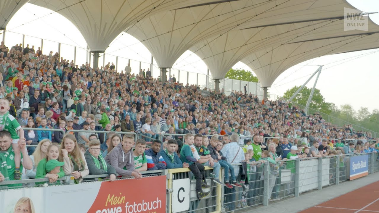 Https Nordbuzz De Region Bremen Oldenburg Public Viewing Vfl Oldenburg Werder Bremen 4480 Fans Verabschieden Werder In
