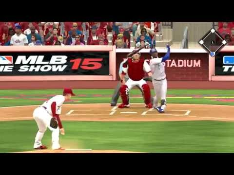MLB 15 The Show PS3 Chicago Cubs vs St Louis Cardinals 09 08 2015