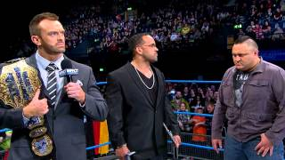 The Lockdown World Title Contract Signing (February 27, 2014)