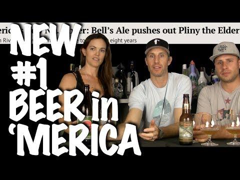 AMERICA'S NEW #1 BEER TASTE TEST: Bell's Two Hearted vs. Pliny the Elder