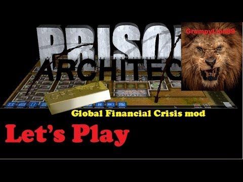 Let's Play Prison Architect Global Financial Crisis Mod ep. #4