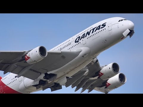 STUNNING HEAVY TAKEOFFS ft. 747, A380, 777, A330 | Sydney Airport Spotting