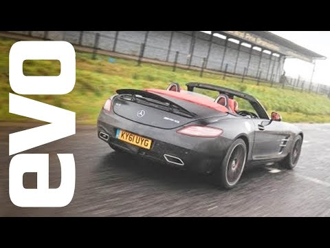 Mercedes SLS AMG Roadster- first impressions- evo Magazine
