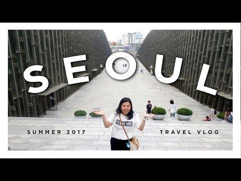 Seoul · South Korea · Summer 2017 · Travel Vlog 1