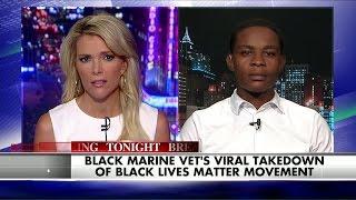 Meet the Black Marine Vet Who's Speaking Out Against Black Lives Matter