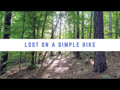 Lost on a Simple Hike? | Lake Johnson | Raleigh