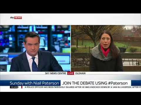 Debbie Abrahams on Sunday with Paterson 26/11/17