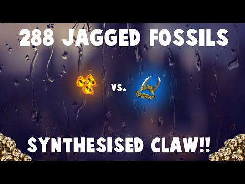288 JAGGED FOSSILS vs. Explode Claw! 🔥 (Path of Exile Fossil Crafting)