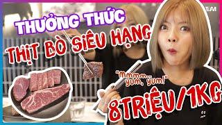 """""""Cháy Túi"""" Với Miếng Thịt Bò Gần 500$!!! Ăn Sấp Mặt Với Ohsusu TV"""