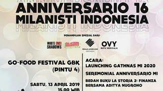 Anniversary Milanisti Indonesia